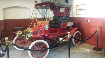 one of several classic cars circa 1900